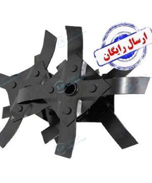 تیغه های یدکی وجین موتوری چنگکی نوع پرچی (الحاقی علفتراش)
